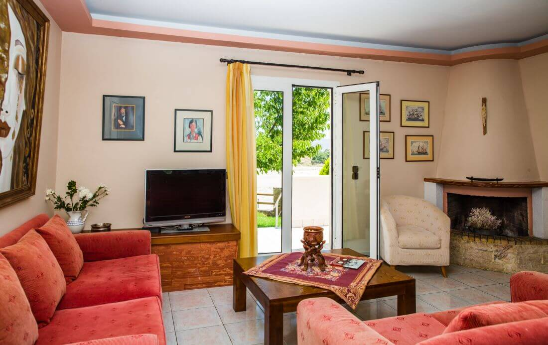 Villa Eleana - Living Room